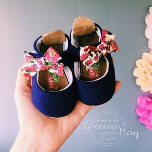 Gracious May Baby Girl Shoes Dress Booties Purple
